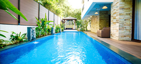 GVR234: Luxury private pool and garden villa in Siolim: 4BR